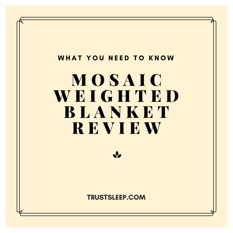 mosaic weighted blanket reviews
