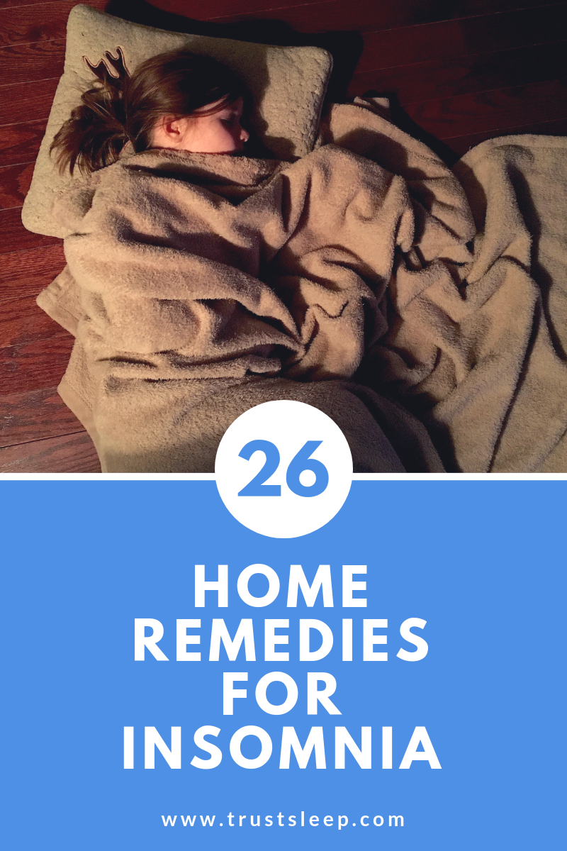 26 home remedies for insomnia